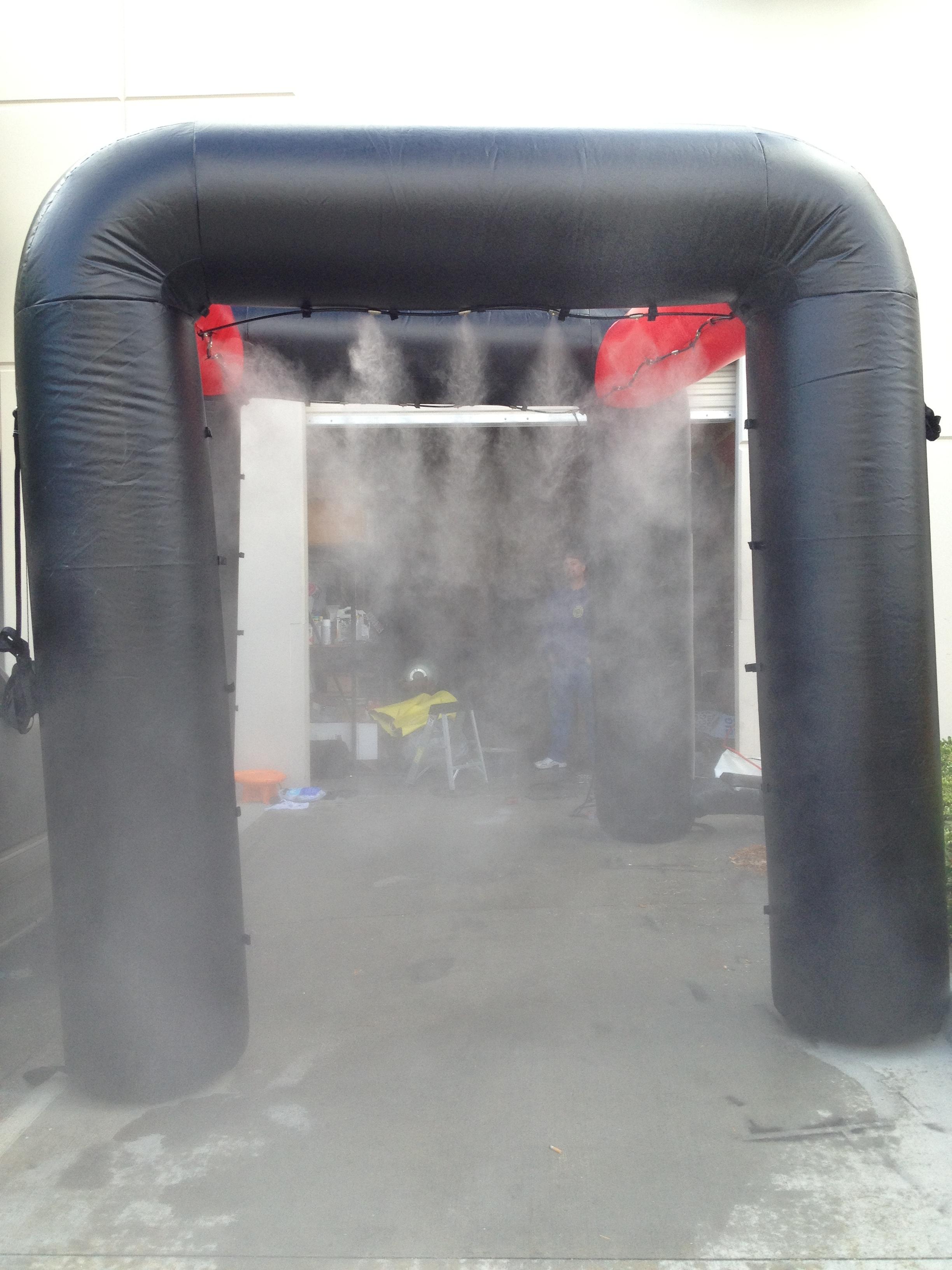 "10x10"" Mid Pressure Misting Inflatable"
