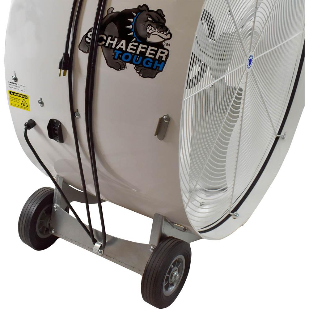 Schaefer Versa Kool Belt Drive Fan 14400 CFM