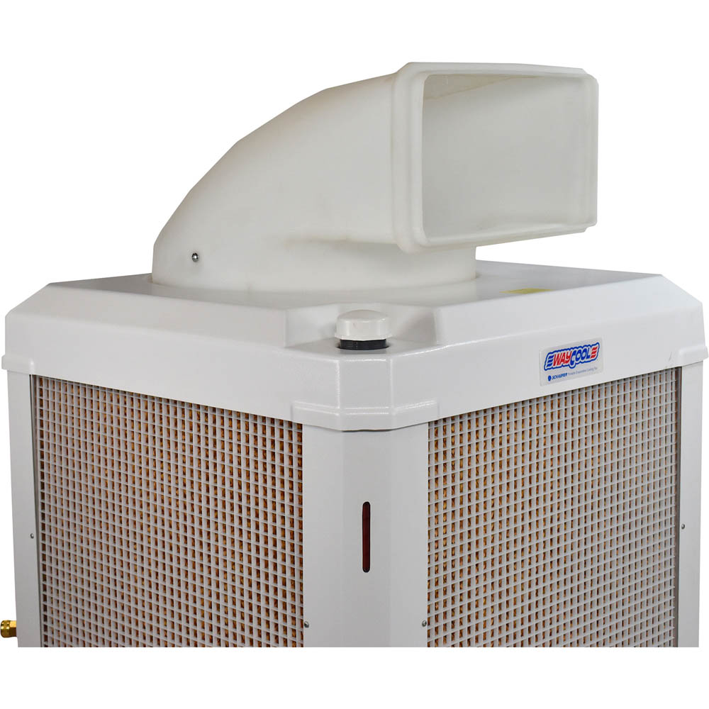 WayCool 1Hp Evaporative Cooling Unit Oscillating - Industrial Cooling
