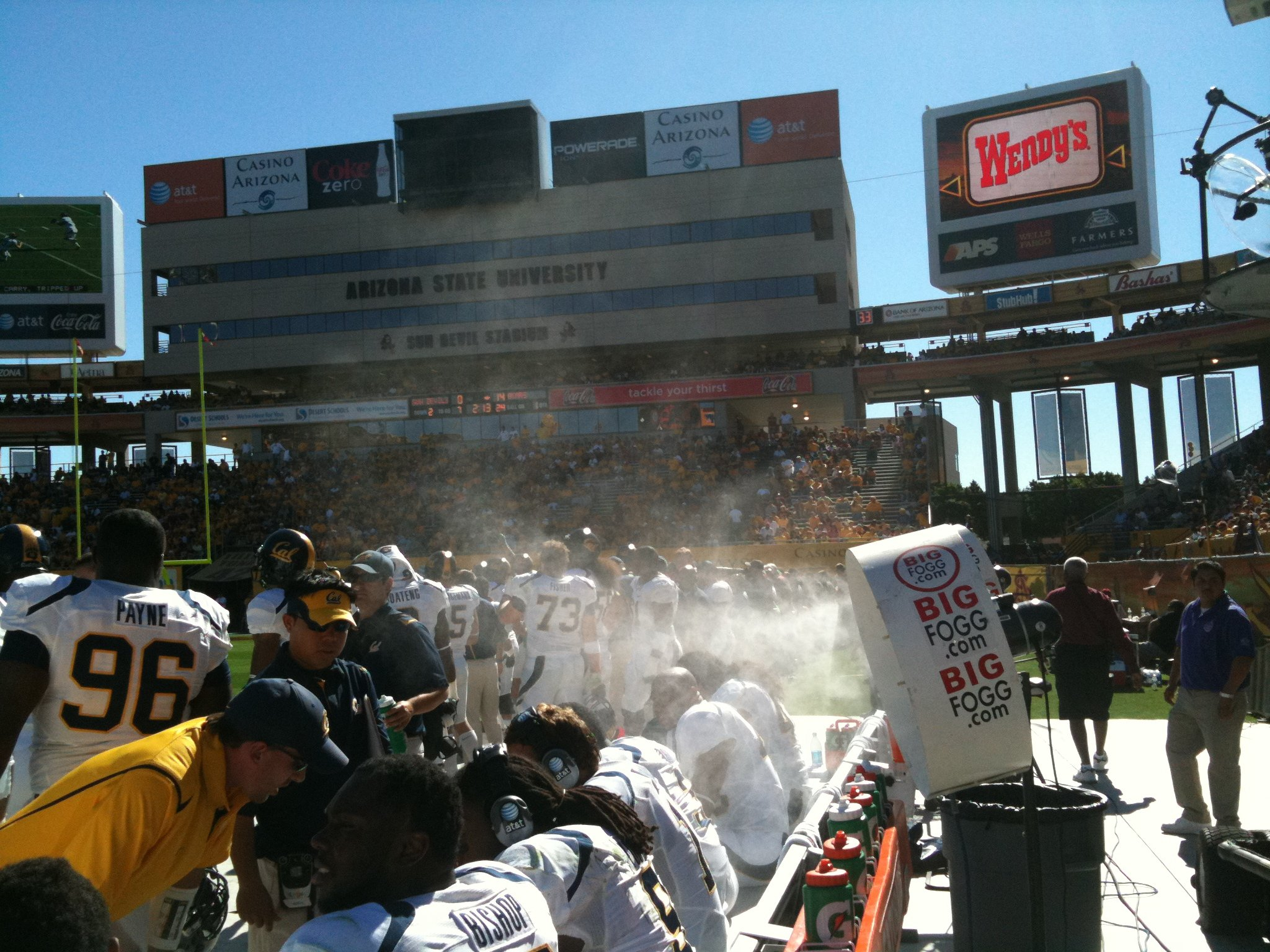 Sports Misting Systems
