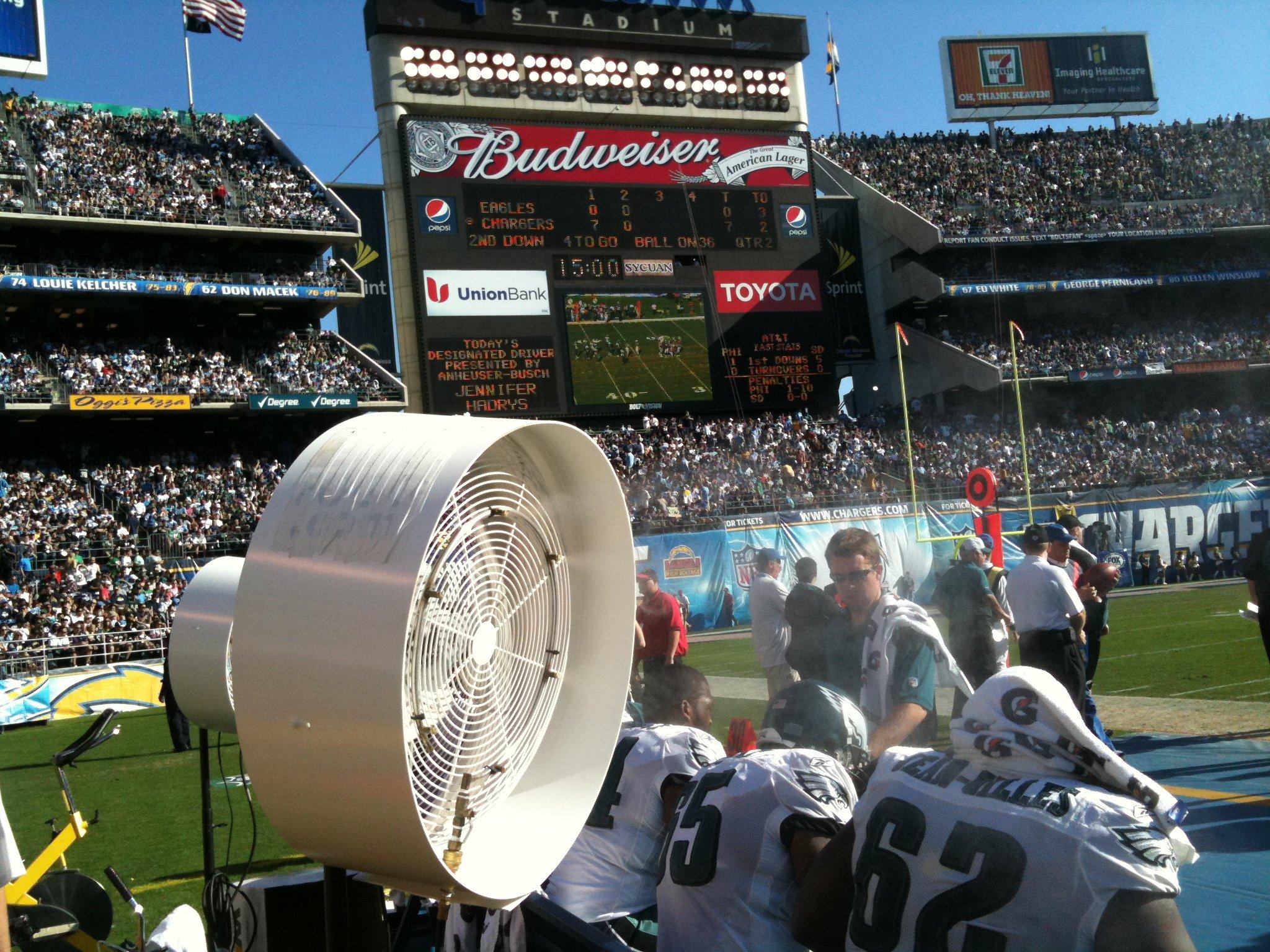 Commercial Misting Fan