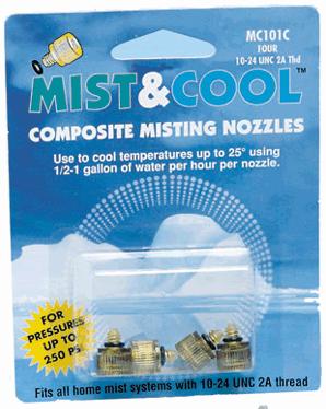 misting nozzles