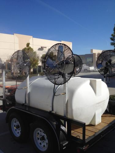 Misting Trailer Systems