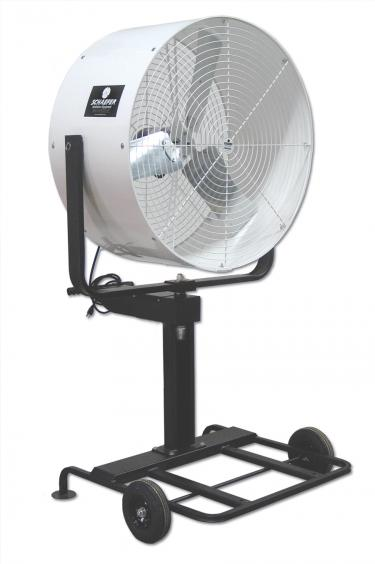 Mobile Oscillating Misting Fan