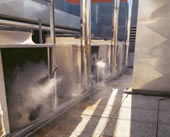 precooling ac misting systems
