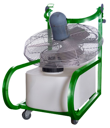 18 Gallon Air Chiller Portable Fold Down Fan