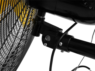 30 High Velocity Oscillating Wall Misting Fan