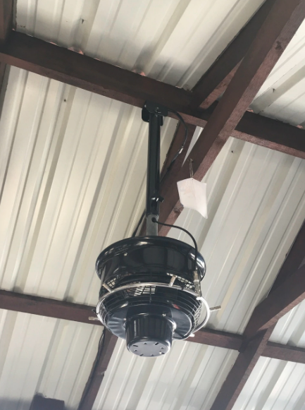 Wind Chill Overhead Misting Fan
