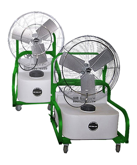 Compact Air Chiller Misting Fans