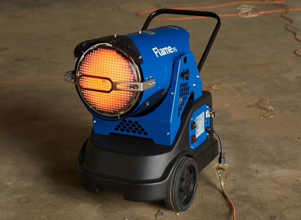 Veloci Fire 115 Mobile Radiant Heater