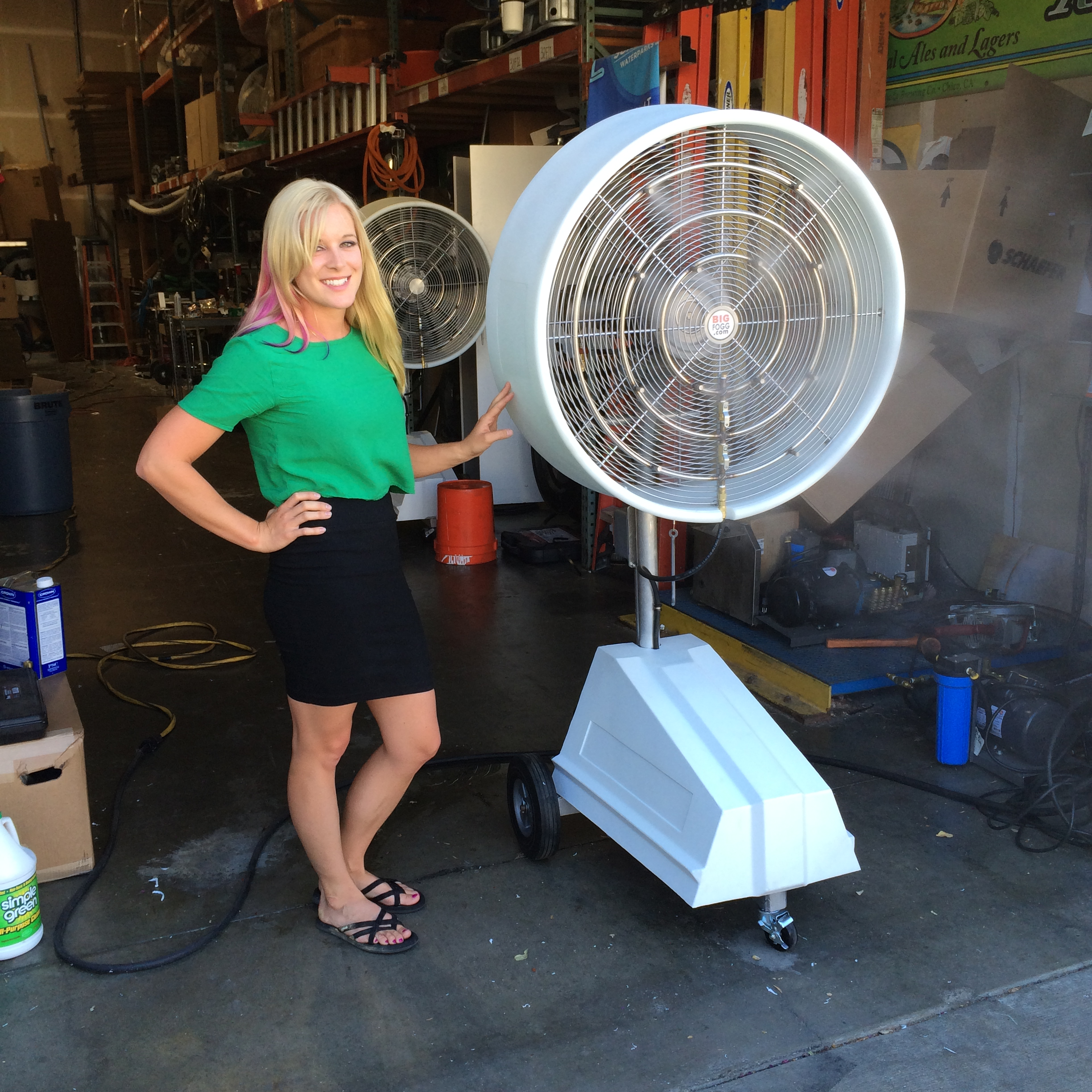 Explosion Proof Misting Fan Systems