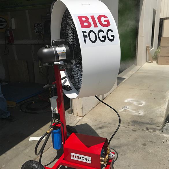 NFL All-Stars cooled by Big Fogg