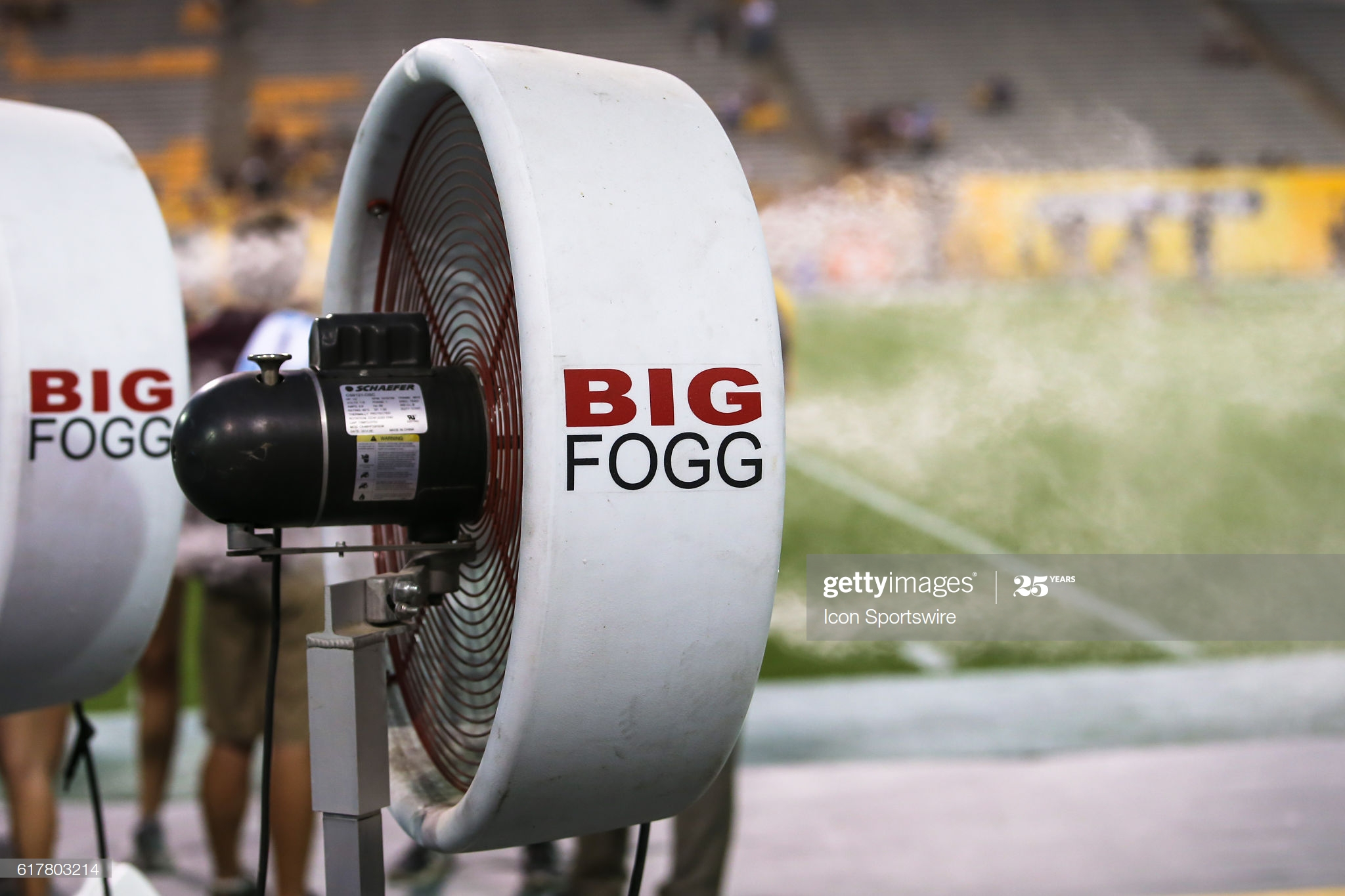HOW DID SPORTS FIRST USE MISTING FANS TO COOL ATHLETES