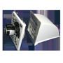 "front view of 12"" Hood Style Exhaust Fan, Aluminum Shutter"