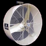 "36"" Versa-Kool Circulation Fan with Yoke Mount white color"