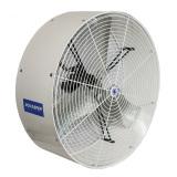 "side view of white 42"" Versa-Kool Circulation Fan"