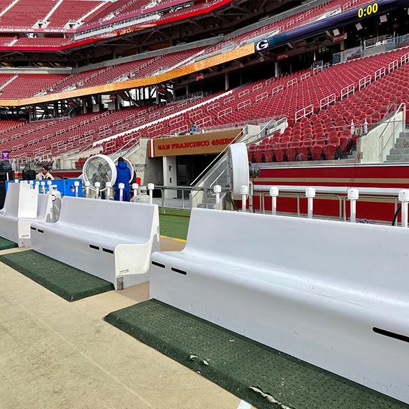 Big Fogg Gear to Keep Football Players Warm