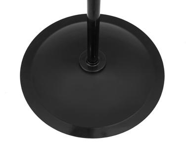 "black round pedastal for 24"" Master Industrial Velocity Pedestal Fan"