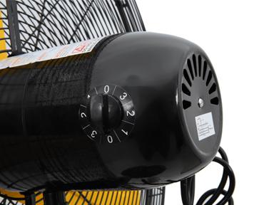 "3 speed motor for 24"" Master Industrial Velocity Pedestal Fan"