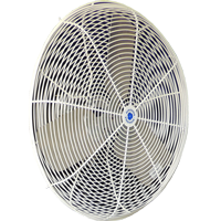 "20"" Twister Oscillating Circulation Fan, White OSHA guard"