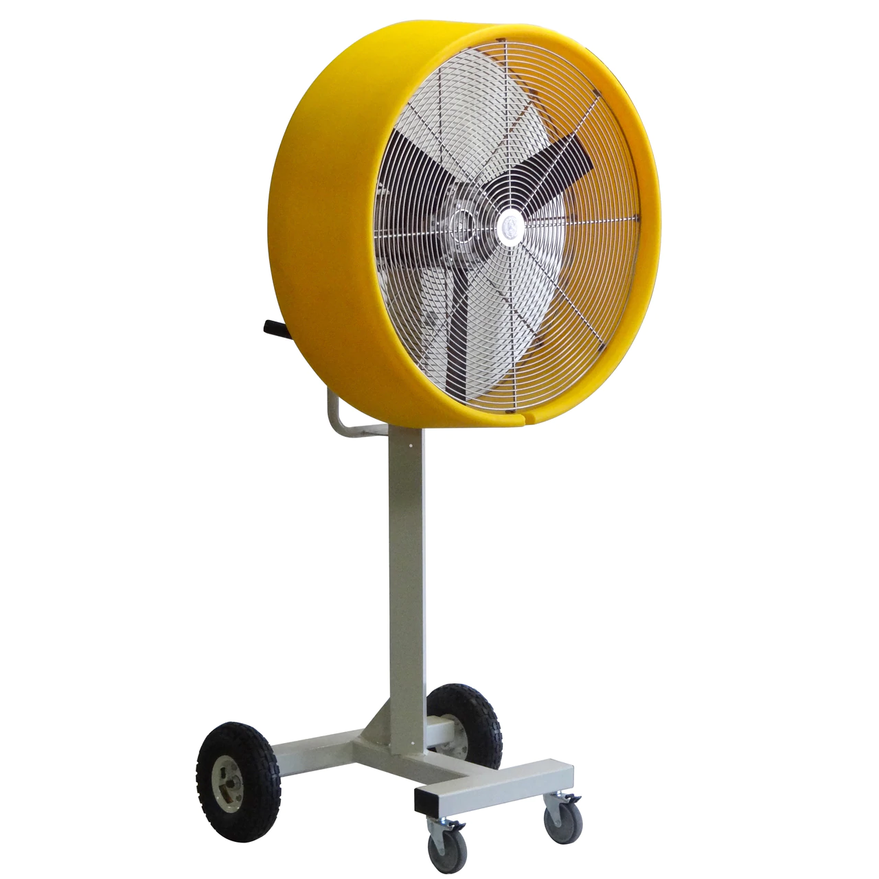 "side view of The ""BEAST"" Industrial Outdoor/Indoor 30-inch Shrouded Fixed Floor Fan-1 Speed"