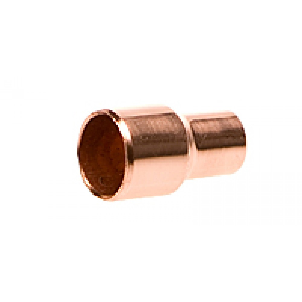 "side view of Copper Reducer 3/8"" X 1/4"""