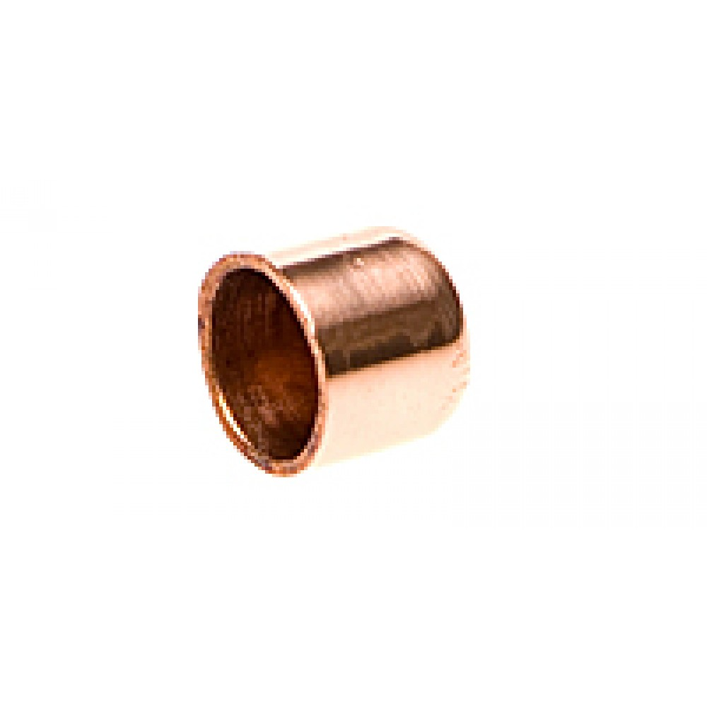 Side view of Copper Cap 3/8""