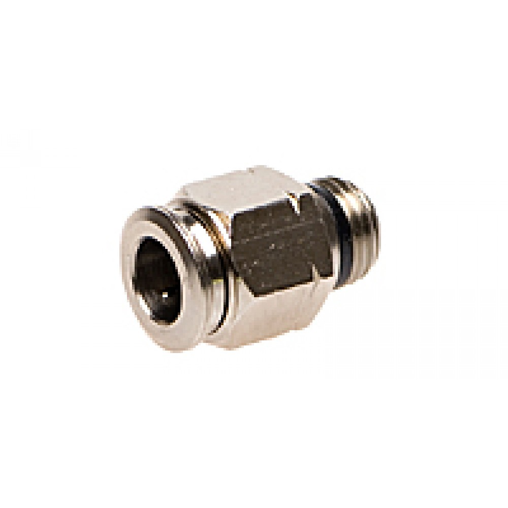 "side view of 3/8"" x 1/4"" MNPT Slip Lok Male Connector"