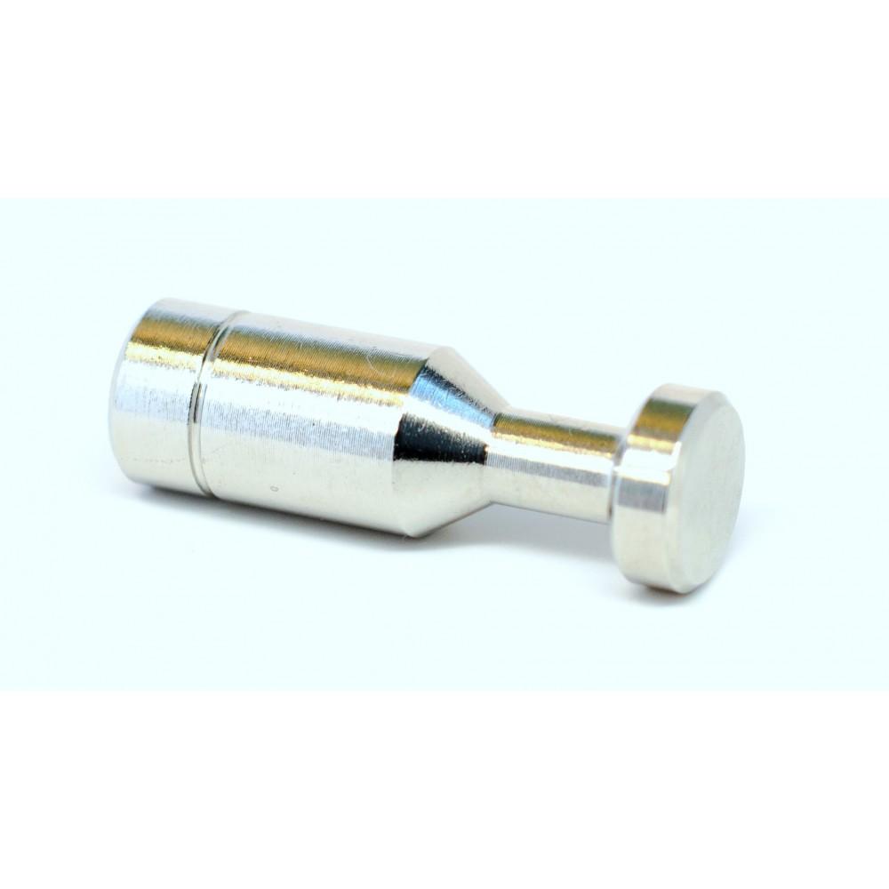 "side view of 1/4"" Slip Lok End Plug"