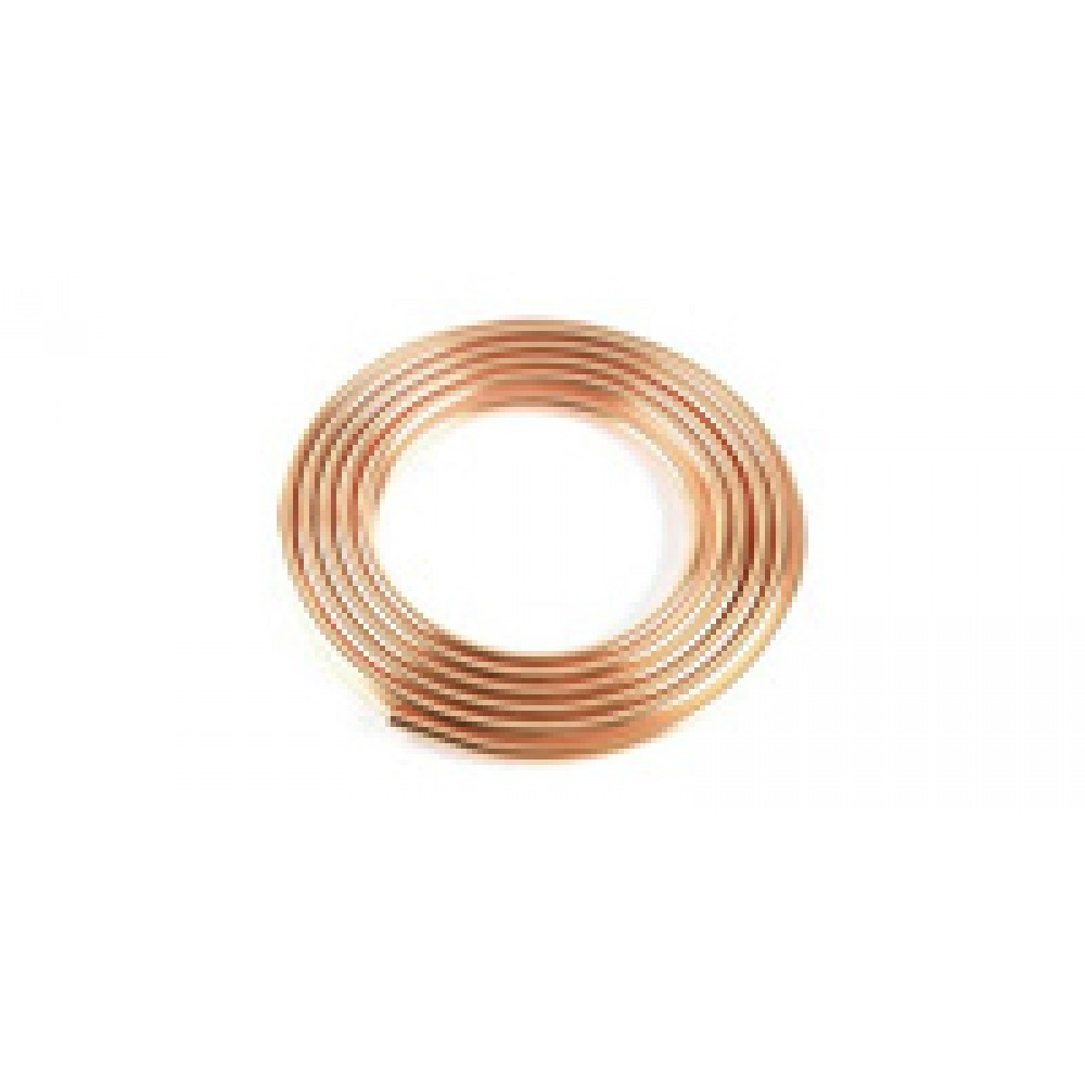 "Copper Tubing 1/4"" O.d. 50 Ft Coil"