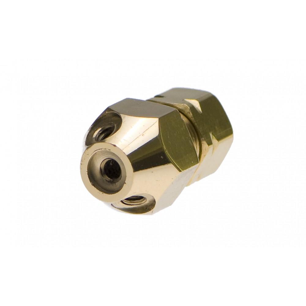Single brass 3 Nozzle Fog Head