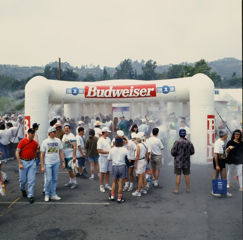 Misting Inflatable 20 x 20 High Pressure